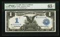 Large Size:Silver Certificates, Fr. 236* $1 1899 Silver Certificate PMG Gem Uncirculated 65 EPQ.. ...