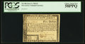 Colonial Notes:New Jersey, New Jersey June 9, 1780 $5 PCGS Choice About New 58PPQ.. ...