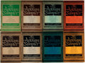 Books:Literature 1900-up, [Arkham House]. Group of Eight Editions of The Arkham HouseSampler. Sauk City: Arkham House, 1948-1949. Includes wr...(Total: 8 Items)