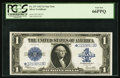 Large Size:Silver Certificates, Fr. 237* $1 1923 Silver Certificate PCGS Gem New 66PPQ.. ...