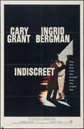 "Movie Posters:Romance, Indiscreet (Warner Brothers, 1958). One Sheet (27"" X 41""). Romance.. ..."