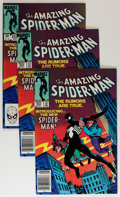 Modern Age (1980-Present):Superhero, The Amazing Spider-Man #252 Group (Marvel, 1984) Condition: AverageVF/NM.... (Total: 4 Comic Books)