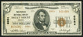 National Bank Notes:Virginia, Rocky Mount, VA - $5 1929 Ty. 2 The Peoples NB Ch. # 8984. ...