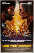 Miscellaneous:Movie Posters, [Movie Posters]. Lone Wolf McQuade (1983). Original onesheet movie poster. Starring Chuck Norris and David Carr...