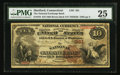 National Bank Notes:Connecticut, Hartford, CT - $10 1882 Brown Back Fr. 479 The National Exchange Bank Ch. # 361. ...