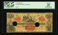 Confederate Notes:1861 Issues, T19 $20 1861 PF-1 Cr. 137.. ...