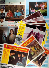 [Movie Posters]. Group of Thirty-Three Lobby Cards. Films include: Stagecoach (13); The Master Gunfight