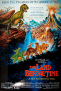 Miscellaneous:Movie Posters, [Movie Posters]. Group of Four Original One Sheet Movie Posters for 1980s Children's Movies. Titles include: The Land Befo...