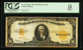 Large Size:Gold Certificates, Fr. 1173a* $10 1922 Mule Gold Certificate PCGS Apparent Fine 15.....