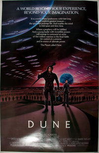 [Movie Posters]. Dune (Universal, 1984). Original one sheet movie poster. 27 x 41 in