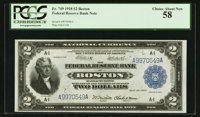 Fr. 749 $2 1918 Federal Reserve Bank Note PCGS Choice About New 58