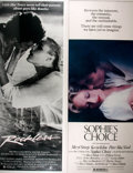 Miscellaneous:Movie Posters, [Movie Posters]. Group of Thirty Original Insert Movie Posters for1980s Dramas. Titles and quantities include: Reckless...