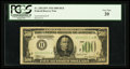 Fr. 2201-H* $500 1934 Federal Reserve Note. PCGS Very Fine 20