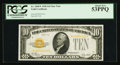 Fr. 2400* $10 1928 Gold Certificate. PCGS About New 53PPQ