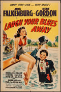 """Movie Posters:Comedy, Laugh Your Blues Away (Columbia, 1942). One Sheet (27"""" X 41"""").Comedy.. ..."""