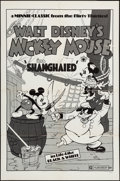 "Movie Posters:Animation, Shanghaied (Buena Vista, R-1974). One Sheet (27"" X 41""). Animation.. ..."