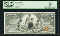 Large Size:Silver Certificates, Fr. 247 $2 1896 Silver Certificate PCGS Apparent Very Fine 20.. ...