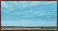 Fine Art - Painting, American:Contemporary   (1950 to present)  , KEITH JACOBSHAGEN (American, b. 1941). West of Walton, EarlyAfternoon, 1986. Oil on canvas. 24 x 46 inches (61.0 x 116....