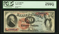 Large Size:Legal Tender Notes, Fr. 127 $20 1869 Legal Tender PCGS Superb Gem New 67PPQ.. ...