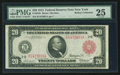 Fr. 953b $20 1914 Red Seal Federal Reserve Note PMG Very Fine 25