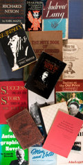 Books:Biography & Memoir, Eighteen Biographies including that of Ambrose Bierce, Richard Nixon, General George Crook, et al. Various publishers an... (Total: 18 Items)
