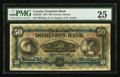 Canadian Currency: , Toronto, ON- The Dominion Bank $50 Jan. 2, 1925 Ch. # 220-22-08. ...