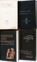 Books:Medicine, [Medicine]. [Ancient Egypt, Greece, Rome, and the Middle East]. Four Works on Ancient Medicine or Alchemy. Various publisher... (Total: 4 Items)