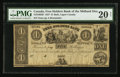 Canadian Currency: , Bath, UC- Free Holders Bank of the Midland District $1 1837Remainder Ch. # 310-10-02R . ...