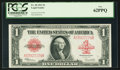 Large Size:Legal Tender Notes, Fr. 40 $1 1923 Legal Tender PCGS New 62PPQ.. ...
