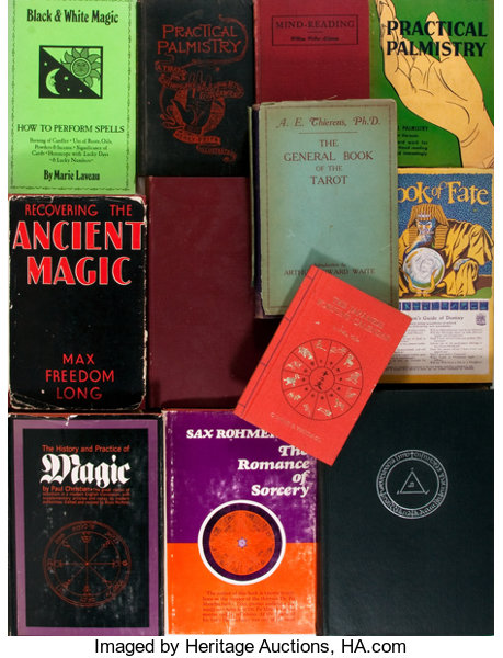 Magick]  Twelve Books on Occult Subjects such as the performance