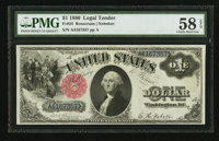 Fr. 34 $1 1880 Legal Tender PMG Choice About Unc 58 EPQ