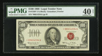 Fr. 1550* $100 1966 Legal Tender Note. PMG Extremely Fine 40 Net