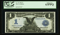 Fr. 233 $1 1899 Silver Certificate PCGS Choice New 63PPQ