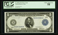 Fr. 848 $5 1914 Federal Reserve Note PCGS Choice About New 58