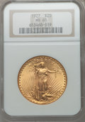 Saint-Gaudens Double Eagles, 1927 $20 MS65 NGC....