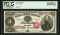 Large Size:Treasury Notes, Fr. 356 $2 1891 Treasury Note PCGS Choice About New 58PPQ.. ...