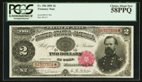 Fr. 356 $2 1891 Treasury Note PCGS Choice About New 58PPQ