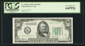 Small Size:Federal Reserve Notes, Fr. 2105-K $50 1934C Federal Reserve Note. PCGS Very Choice New 64PPQ.. ...