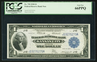 Fr. 739 $1 1918 Federal Reserve Bank Note PCGS Gem New 66PPQ