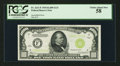Fr. 2211-F $1,000 1934 Light Green Seal Federal Reserve Note. PCGS Choice About New 58