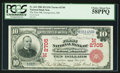 Georgetown, OH - $10 1902 Red Seal Fr. 613 The First NB Ch. # (M)2705