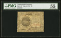 Continental Currency May 9, 1776 $7 PMG About Uncirculated 55