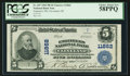 National Bank Notes:Ohio, Cleveland, OH - $5 1902 Plain Back Fr. 607 Engineers NB Ch. # 11862. ...