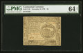 Colonial Notes:Continental Congress Issues, Continental Currency November 2, 1776 $4 PMG Choice Uncirculated 64Net.. ...