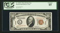 Small Size:World War II Emergency Notes, Fr. 2303* $10 1934A Hawaii Federal Reserve Note. PCGS Gem New 65.....