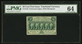 Fr. 1310 50¢ First Issue PMG Choice Uncirculated 64