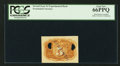 Fractional Currency:Second Issue, 5¢ Second Issue Plain Paper Experimental Back PCGS Gem New 66PPQ.. ...