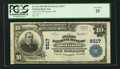 National Bank Notes:Oklahoma, Quinton, OK - $10 1902 Plain Back Fr. 626 The First NB Ch. # 6517. ...