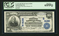 National Bank Notes:Pennsylvania, Mount Pleasant, PA - $10 1902 Plain Back Fr. 626 The Peoples NB Ch.# (E)9198. ...