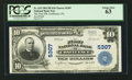 National Bank Notes:Pennsylvania, Confluence, PA - $10 1902 Plain Back Fr. 633 The First NB Ch. #5307. ...
